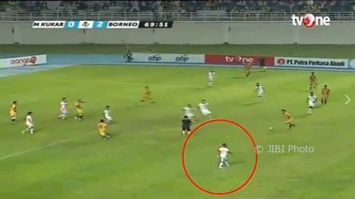 Ciptakan Gol Keren, Pemain Borneo FC Ini Disebut Sebagai Pemain Tercepat Dunia