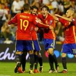 Timnas Spanyol. (JIBI/REUTERS/Heino Kalis)