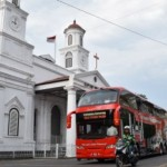 Kota Lama Bebas Kendaraan Berat, Bahkan Bus Trans Semarang