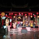 Di Tengah Guyuran Hujan, Aksi Barongsai Hoo Hap Hwee Meriahkan Festival Tiong Ciu