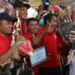 PETERNAKAN JATENG : Dikunjungi Ganjar, Ekspresi Hewan Ternak Ini Bikin Gagal Fokus