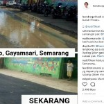 INFRASTRUKTUR SEMARANG : Hendi Pamer Jalan di Tambakrejo, Netizen Mengkritik