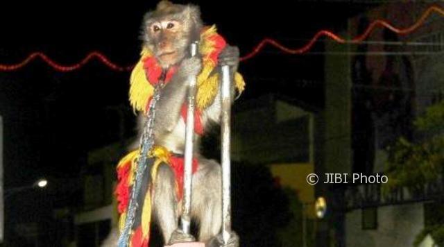 Foto Topeng Monyet Lestari di Kudus