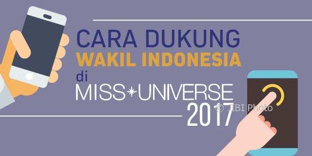#ESPOSPEDIA : Yuk, Dukung Indonesia di Miss Universe 2017