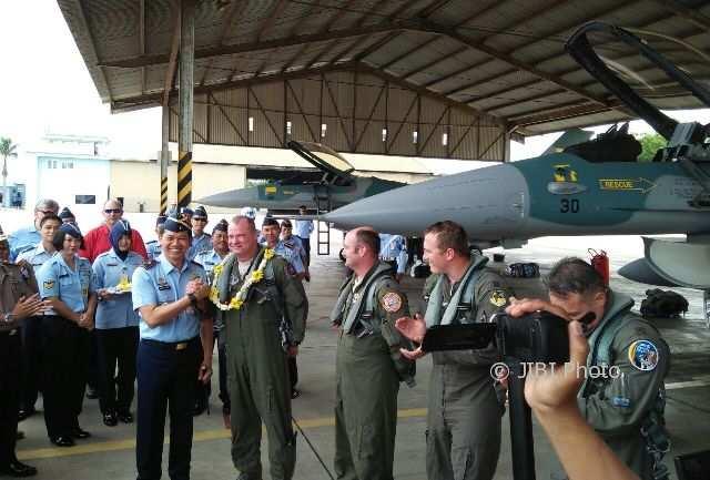4 Pesawat F-16 Tiba di Lanud Iswahjudi Magetan, 2 Rusak di Hawaii
