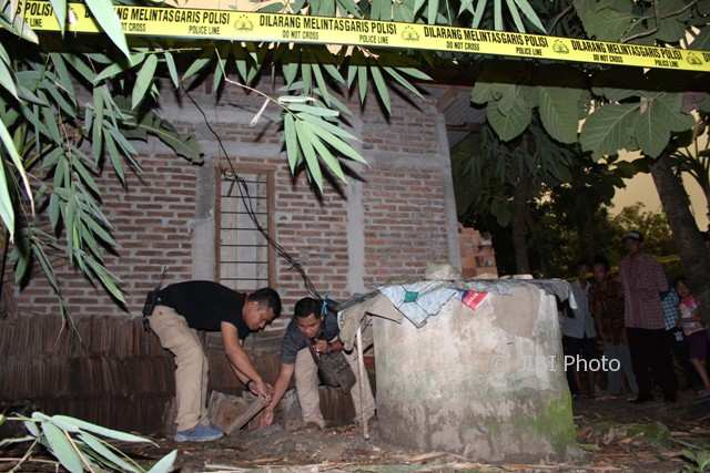 Penemuan Orok Terkubur di Pekarangan Gegerkan Warga Sambi Boyolali