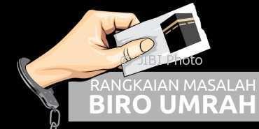 Sejumlah  masalah menghinggapi bisnis perjalanan  umrah di Indonesia. Sebagian sudah masuk ke ranah hukum. (Whisnu Paksa/JIBI/Solopos)