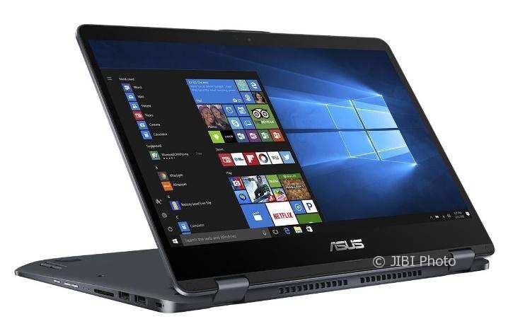 ASUS VivoBook Flip TP410, Ringkas dan Bertenaga