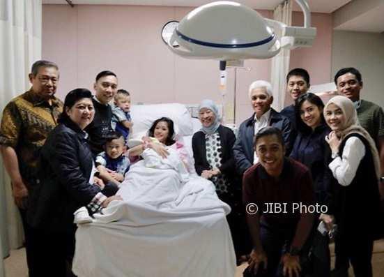 Lahir Tepat di Tahun Baru, Ini Nama Cucu Baru SBY