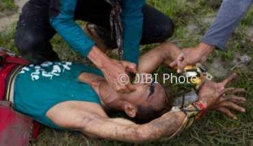 Ilustrasi kesurupan.  (JIBI/Solopos/Antara/Aji Styawan)