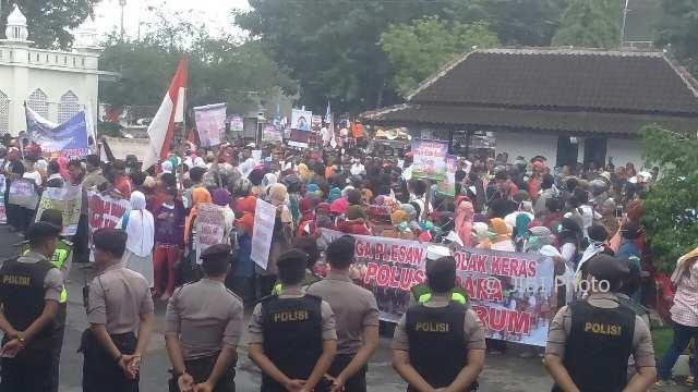 Warga Nguter Terdampak Bau Limbah PT RUM Sukoharjo Mengadu ke Polda Jateng