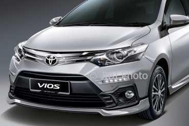 Eksterior Toyota Vios. (Istimewa)