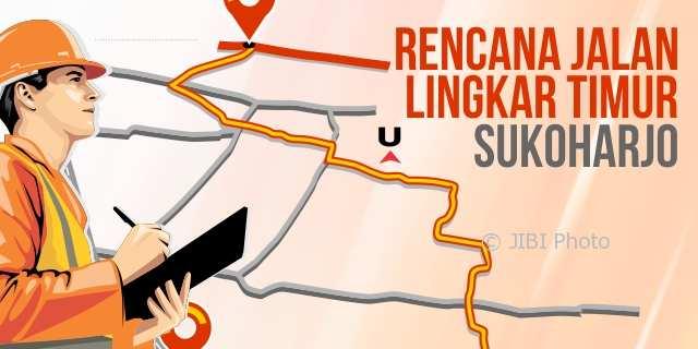 Siap-Siap, Ganti Rugi Lahan Jalur Lingkar Timur Sukoharjo Dimulai November