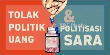 Ilustrasi politik uang dan politisasi SARA. (Solopos.com-Dok.)