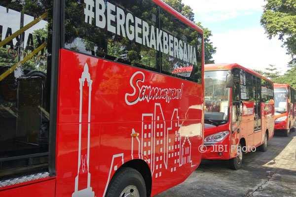 Naik BRT Trans Semarang, Difabel Cukup Bayar Rp1.000