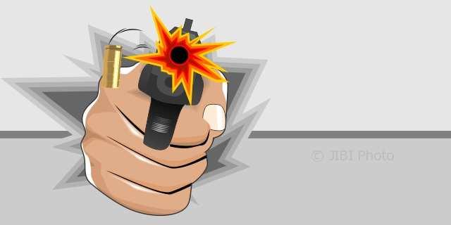 Pedagang Kopi di Padalarang Diberondong Tembakan, 2 Peluru Bersarang di Wajah