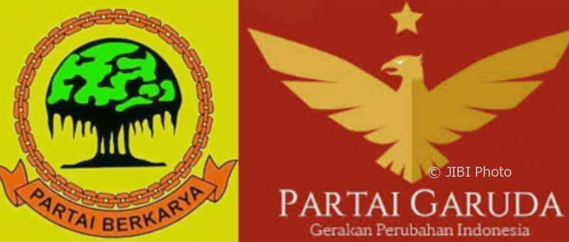 Partai Garuda Paling Banyak Dicari Netizen