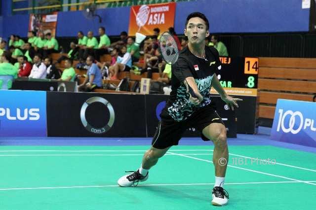 BADMINTON ASIA TEAM CHAMPIONSHIPS 2018: Jonatan Pelajari Permainan Srikanth