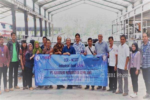 KAMPUS DI SEMARANG : Undip Kembangkan Bus Listrik