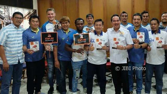 Disponsori Perusahaan Lokal, Bos PSIS Semarang Bersyukur