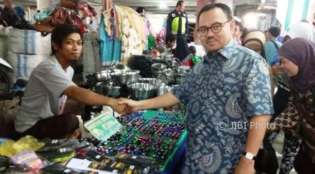 PILKADA 2018 : Sudirman Said Janji Kawal Pasar Tradisional dari Gempuran Toko Modern