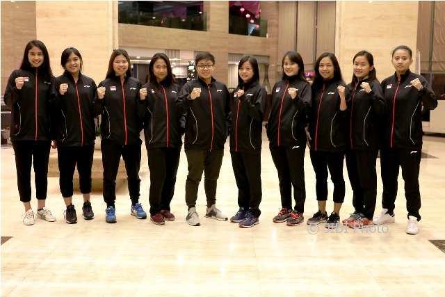 BADMINTON ASIA TEAM CHAMPIONSHIPS 2018: Tim Putri Indonesia Tundukkan Singapura 3-0