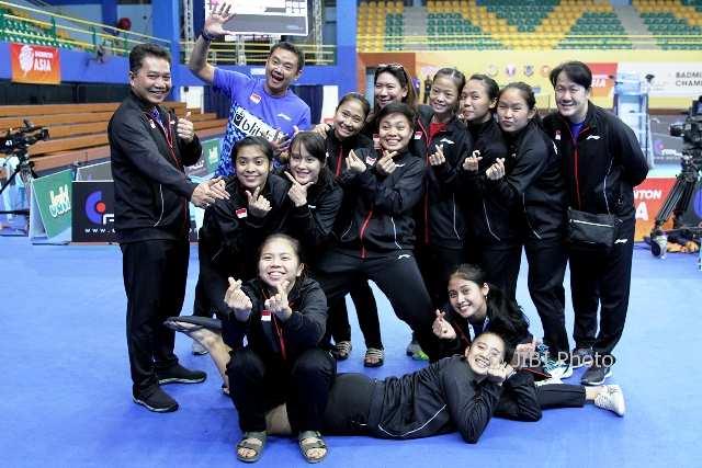 BADMINTON ASIA TEAM CHAMPIONSHIPS 2018: Pijak Semifinal, Tim Putri Indonesia Penuhi Target