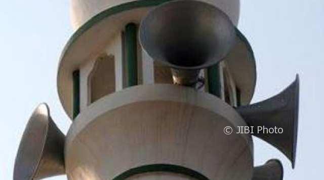 Ilustrasi pengeras suara masjid. (hinduexcistence.org)