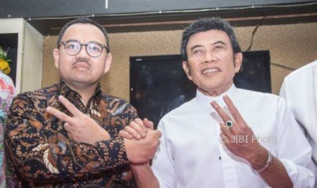 FOTO PILKADA 2018 : Rhoma Irama Dukung Sudirman-Ida