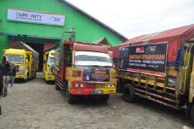 ACT Berangkatkan 20 Truk Bantuan ke Pandeglang dan Lampung Selatan