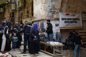 Dapur Umum Indonesia Hadir untuk Masyarakat Yerusalem