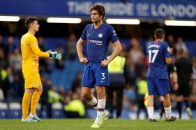 Pemain Chelsea, Marcos Alonso. (Reuters-John Sibley)
