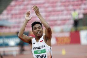 Finis Kelima, Lalu Muhammad Zohri Gagal ke Semifinal Olimpiade Tokyo 2020