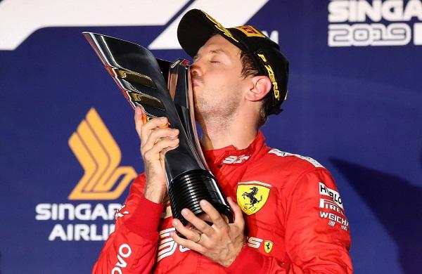 Akhiri 6 Musim Bersama Ferrari, Sebastian Vettel Pindah ke Aston Martin