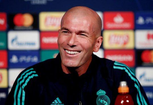 Zinedine Zidane (Reuters-Benoit Tessier)