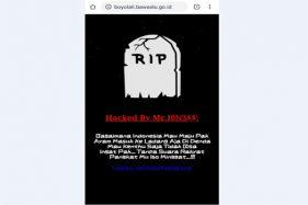 Website Bawaslu Boyolali Jadi Sasaran Protes RKUHP, Begini Tampilannya…
