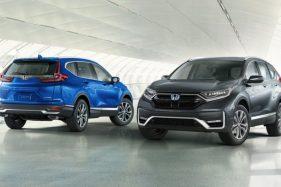 Honda CRV Facelift Akhirnya Diperkenalkan di Thailand, Indonesia Kapan?