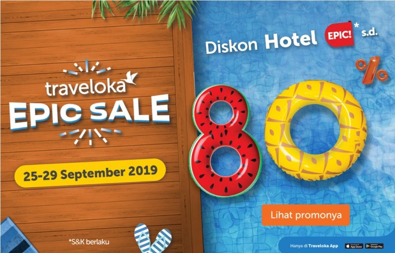 Kenapa Traveloka Epic Sale 25-29 September 2019 Patut Dinantikan?