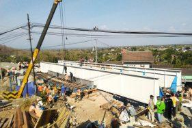 Jembatan Rel KA Kreteg Bang Wonogiri Tambah Panjang 2 Kali Lipat