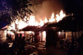 Pasar Nglangon Sragen Terbakar, Sekitar 7 Kios Hangus