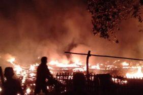 2 Rumah di Sragen Terbakar dalam Semalam