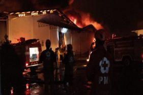 Diawali Dentuman Keras, Gudang Kapas PT Sritex Sukoharjo Terbakar