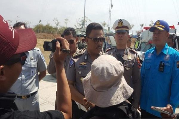 Polisi Olah TKP Tewasnya 5 Orang pada Kecelakaan Maut di Tol Pejagan-Pemalang