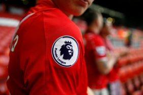 Logo Liga Inggris. (Reuters)
