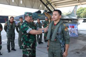 Satu Lagi Penerbang Tempur TNI AU Capai 2.000 Jam Terbang