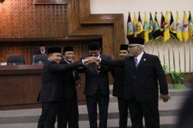 Resmi Dilantik, Pimpinan DPRD Jateng Siap Aplikasikan Parlemen Modern