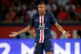 Pemain Paris Saint-Germain (PSG) Kylian Mbappe. (Reuters-Charles Platiau)