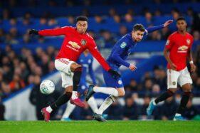 Pertandingan putaran keempat Piala Liga Inggris 2019-2020 antara Chelsea dan Manchester United di Stadion Stamford Bridge, London, Inggris, Kamis (31/10/2019) dini hari WIB. (Reuters-Eddie Keogh)