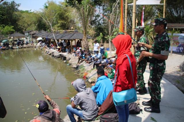 Wisata Klaten, Telogo Ndaru Manjakan Pemancing dan Pecinta Kuliner