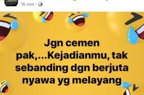 Inikah Postingan Nyinyir Istri Dandim Kendari Soal Wiranto yang Jadi Polemik?